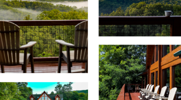 Mountain Views and Back Deck